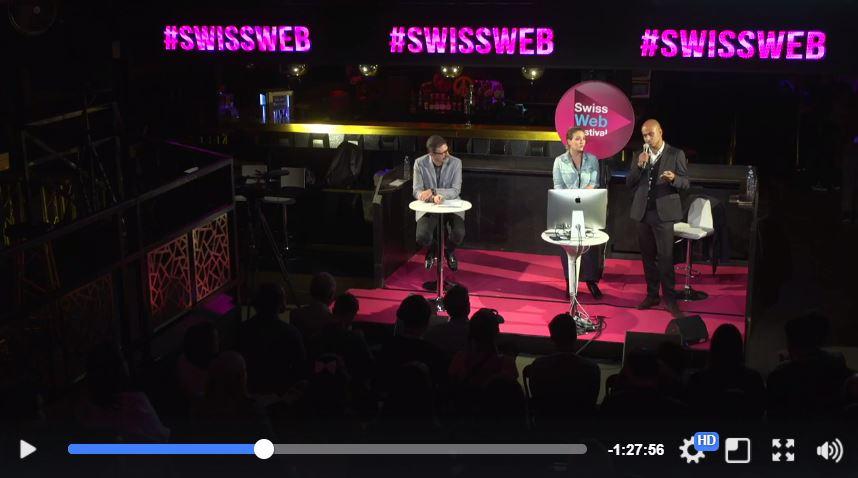 Netino était présent au Swiss Web Festival pour parler Modération