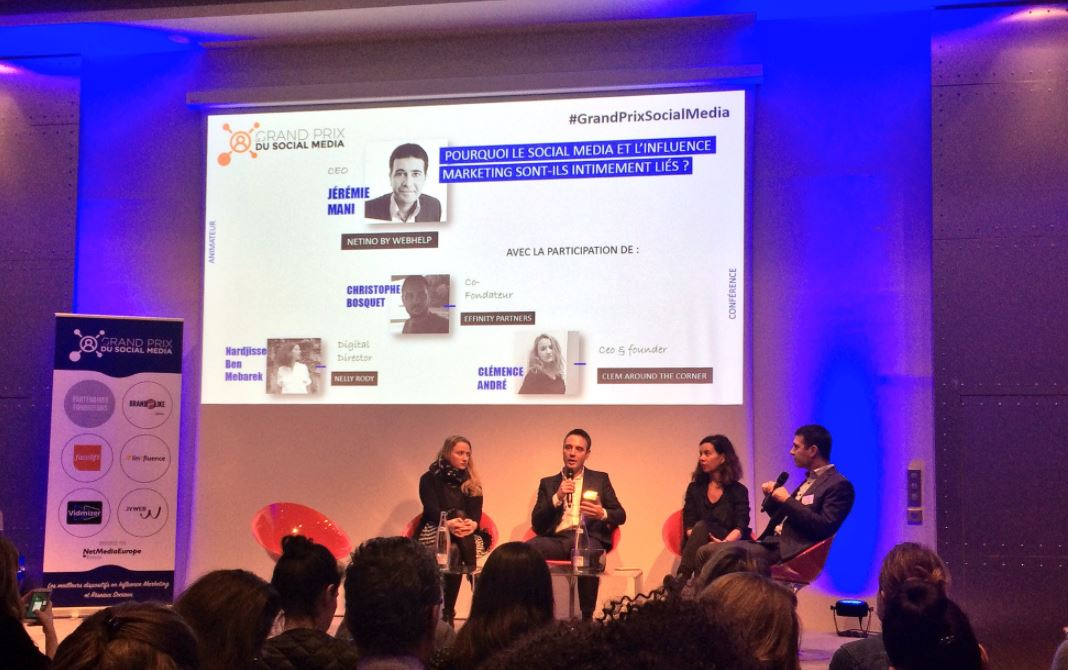 Netino by Webhelp présent au Grand Prix du Social Media