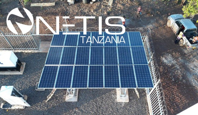 SOLAR power Hybrid system installed for telecom sites in Tanzania © 2019-2020 NETIS Group. All right reserved