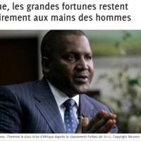 L'homme le plus riche d'Afrique...