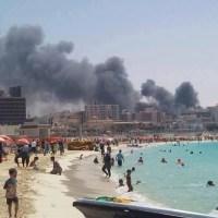 Égypte: A la plage, le refuge...
