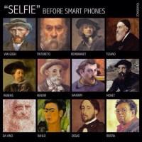 #Selfie: De la toile (des peintres) à la toile (du web)...