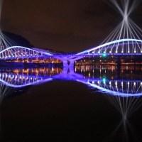 Le Pont Schuman à #Lyon, Cébo (.)