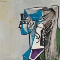 #Art  | Sylvette au fauteuil vert  (Picasso, 1954).