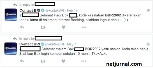 Daftar 7 Kode Kesalahan Internet Banking BRI dan Solusinya 11