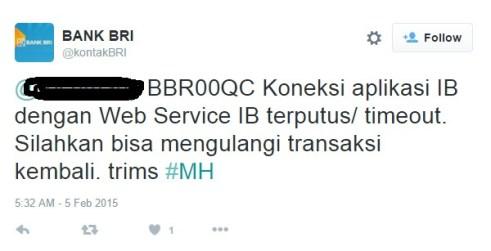 Daftar 7 Kode Kesalahan Internet Banking BRI dan Solusinya a