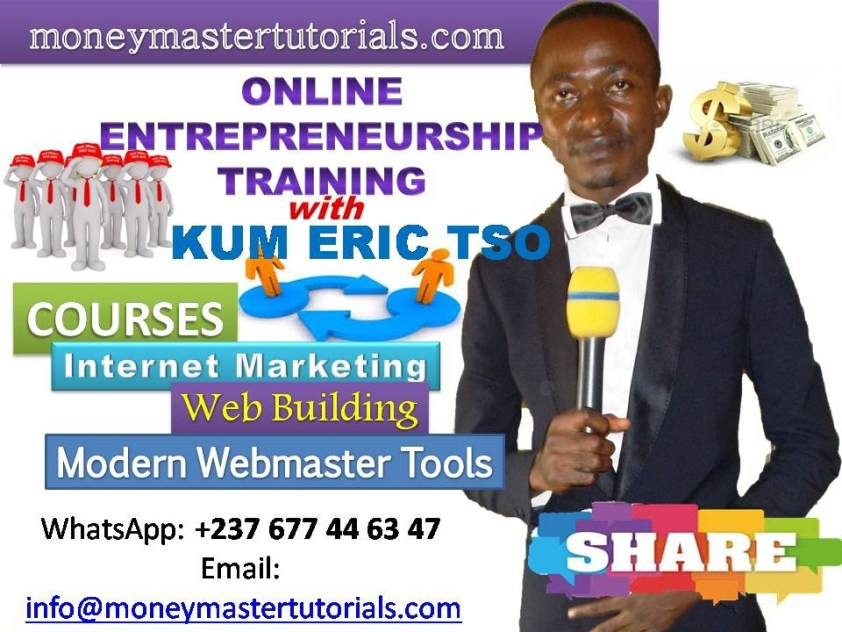Online Entrepreneurship Training Program with Kum Eric Tso