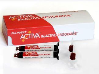 Activa o.fl. dual cure fyllingarefni