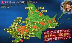 中国資本土地買収