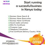 Offer! Fast Business and company Registration, & establishment in Kenya