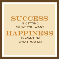 Success and Happiness Quote