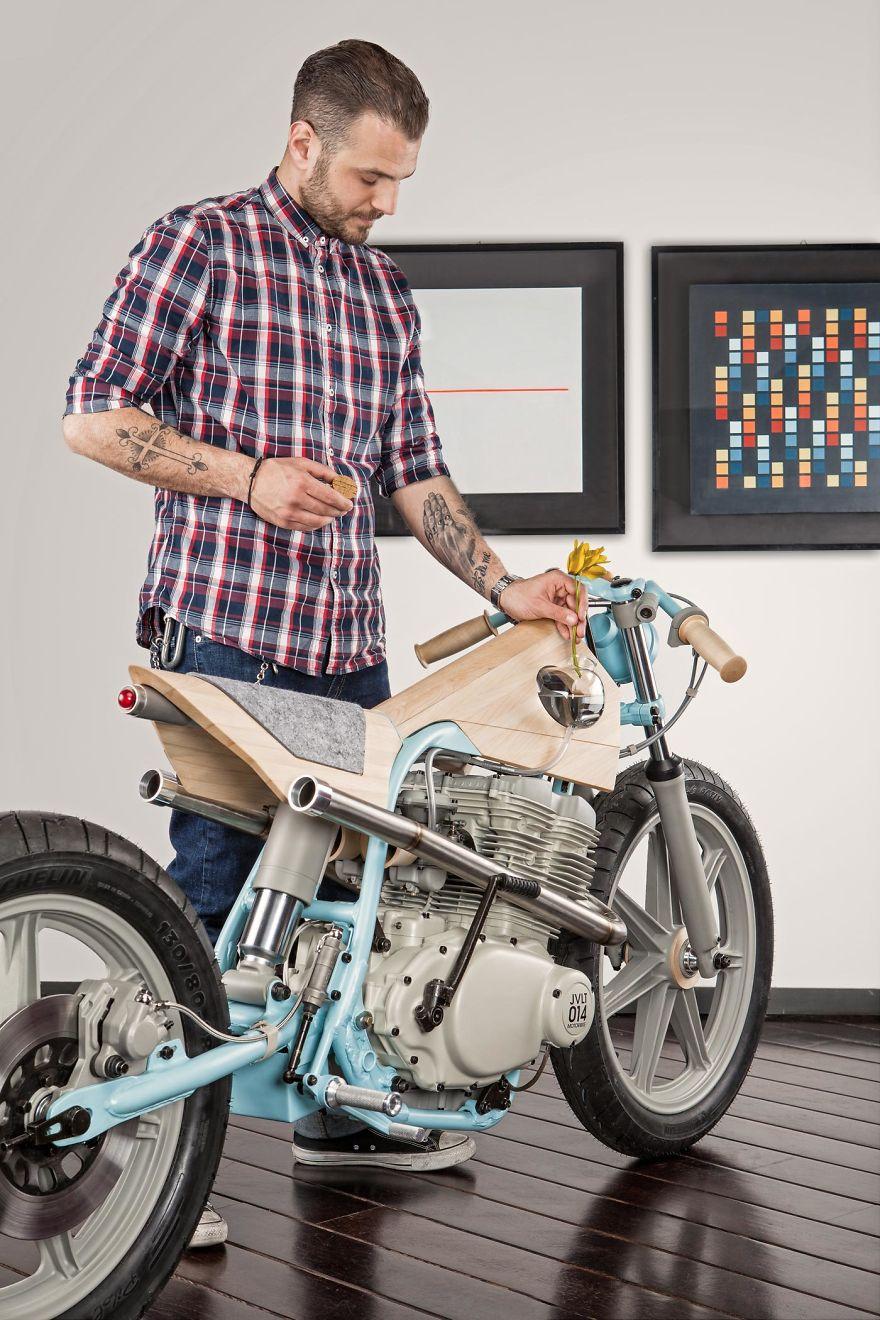 Amazing Motorbike Furniture By Italian Designer Joe Velluto