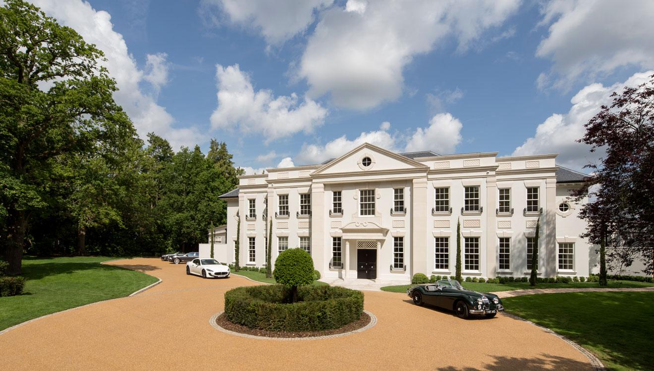 Consero London's New 'Furze Croft' Mansion Sets The