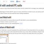Website Review: Android PC Suite