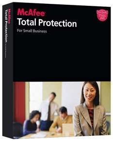 McAfee Total Protection Small Business - 10 Users
