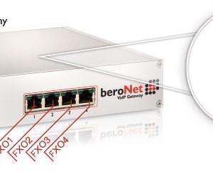 beroNet 4 FXO Gateway