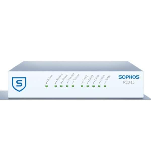 Sophos RED 15 appliance,1-year warranty with multi-region power adapter