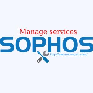 Sophos Firewall Standard Management Service, SG 100 Series