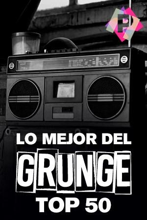 Lo Mejor Del Grunge Top 50 Radio casette antiguo