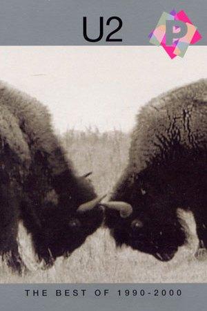 dos bisones cabeza con cabeza embistiéndose