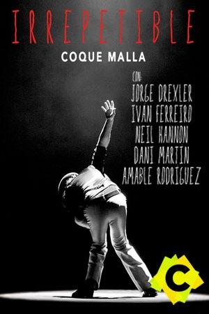 Coque Malla - Irrepetibles. Coque malla entre luces en blanco y negro