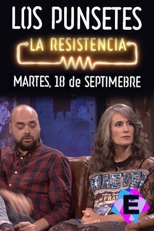 Los Punsetes - En La Resistencia. Ariadna y Manuel Sánchez sentados