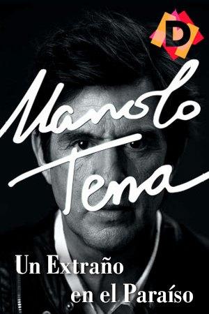 Manolo Tena - Un Extraño En El Paraíso. Manolo tena en primer plano blanco y negro