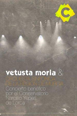 Vetusta Morla y Orquesta Sinfónica De La Región De Murcia - Auditorio Víctor Villegas, Murcia 2012 - luces difusas en un fondo gris