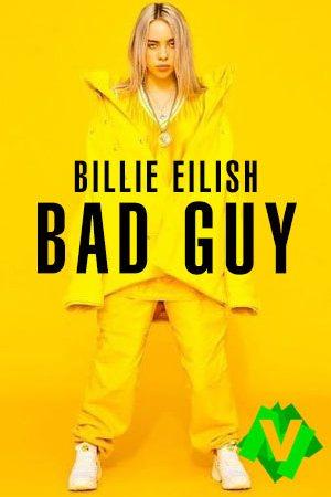 billie eilish de pie vestida de amarillo