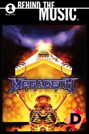 Megadeth - Behind the Music. un esqueleto cogiendo una guitarra