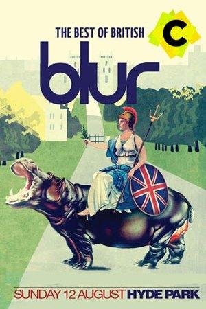Blur- Concierto Hyde Park, Londres 2012