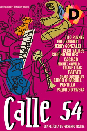 Calle 54 (Documental). Poster