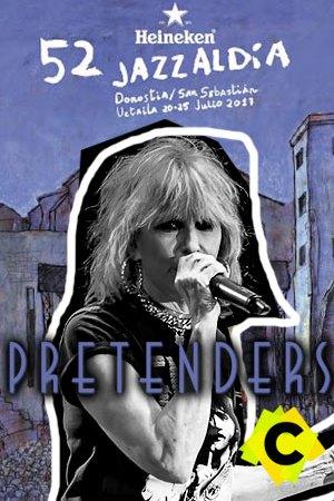 The Pretenders - Concierto 52 Heineken Jazzaldia, Donostia 2017
