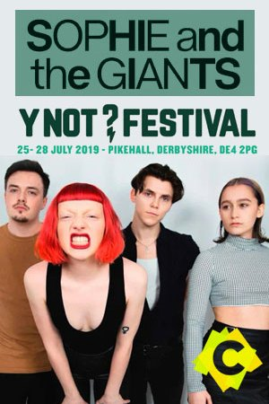 Sophie and The Giants - Concierto Y Not? Festival, Derbyshire 2018