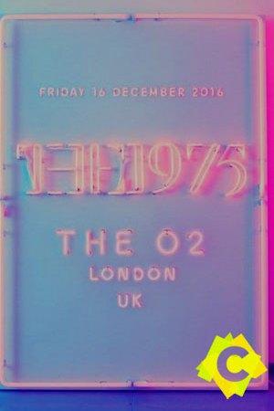 The 1975 - Concierto The O2, Londres 2016, poster