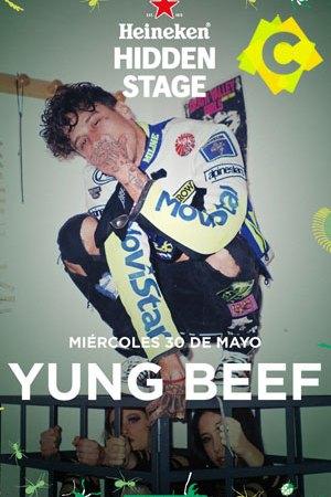 Yung Beef - Concierto Primavera Sound, Barcelona 2018. poster