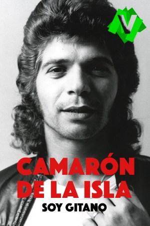el cantante de flamenco camaron de la isla de joven y con gran tupé