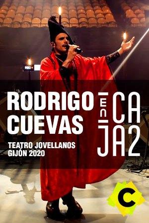 Rodrigo Cuevas - Concierto Encaja2 Teatro Jovellanos, Gijón 2020
