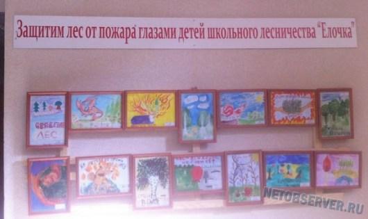 Защитим лес глазами детей