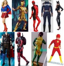 Супергеройские костюмы для детей и взрослых - logo