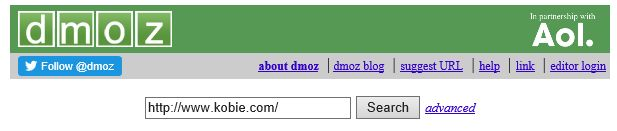 dmoz search