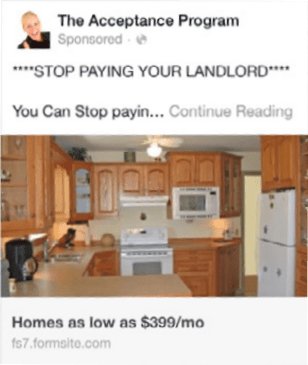 landlord ad the pain point