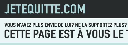 Jetequitte.com - Quitter n'a jamais été aussi simple.