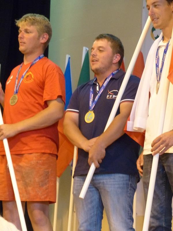 alexandre caudin champion du monde indiviuel pêche au coup 2017 u25