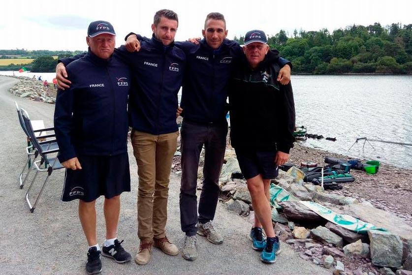 staff équipe de France de pêche au coup u25 2017