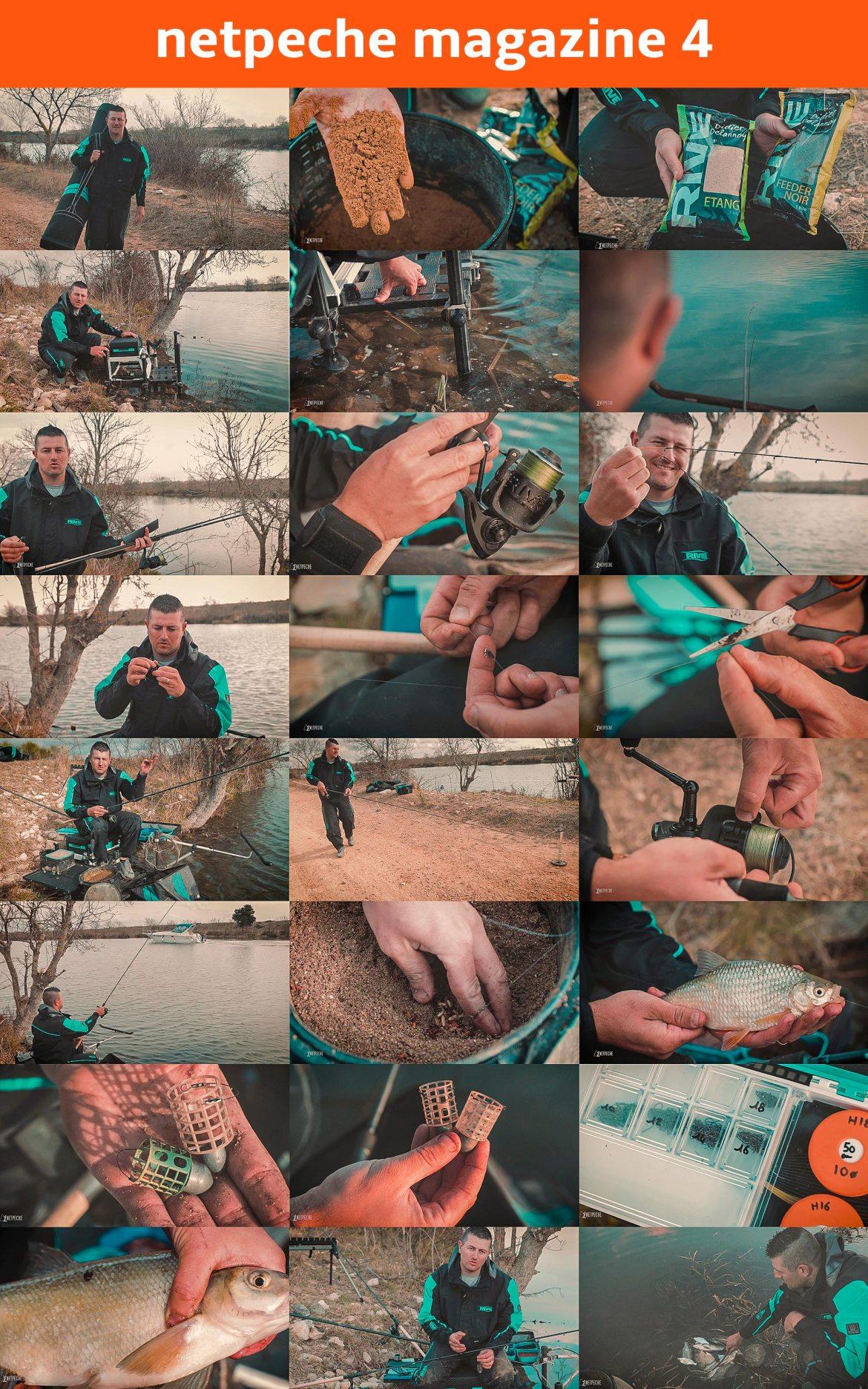 pêche au feeder avec Franck Butavand de Rive France dans une pêche au canal de saint Gilles pour Netpeche magazine