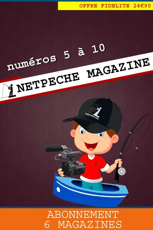 abonnement netpeche magazine 5 à 10