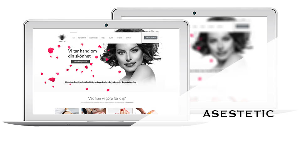 Strona internetowa asestetic