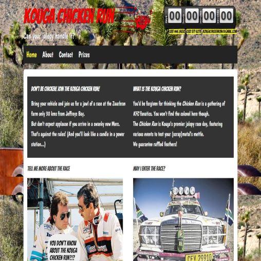 Chicken Run website
