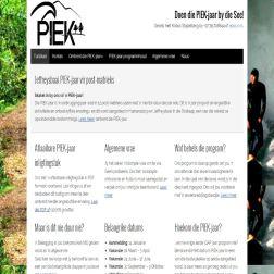 PIEKjaar website